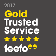feefo 5 Star Independent Customer Reviews