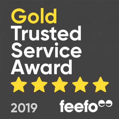 feefo Golf Trusted Service