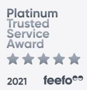 Essential Insurance once again receives prestigious Feefo Platinum Award